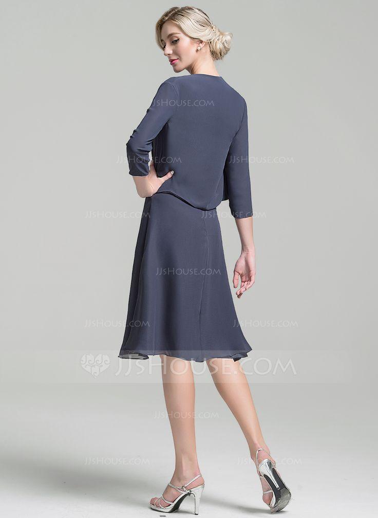 Vestidos princesa/ Formato A Decote redondo Coquetel Beading lantejoulas Zipper nas costas Alças largas Sem magas sim Tempestade Geral Mais Tecido de seda Altura:5.7ft Busto:33in Cintura:24in Quadris:34in US 2 / UK 6 / EU 32 Vestido para a mãe da noiva