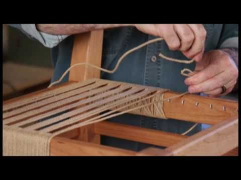 OnlineEXTRA: My First Chair - Weaving Lesson - YouTube