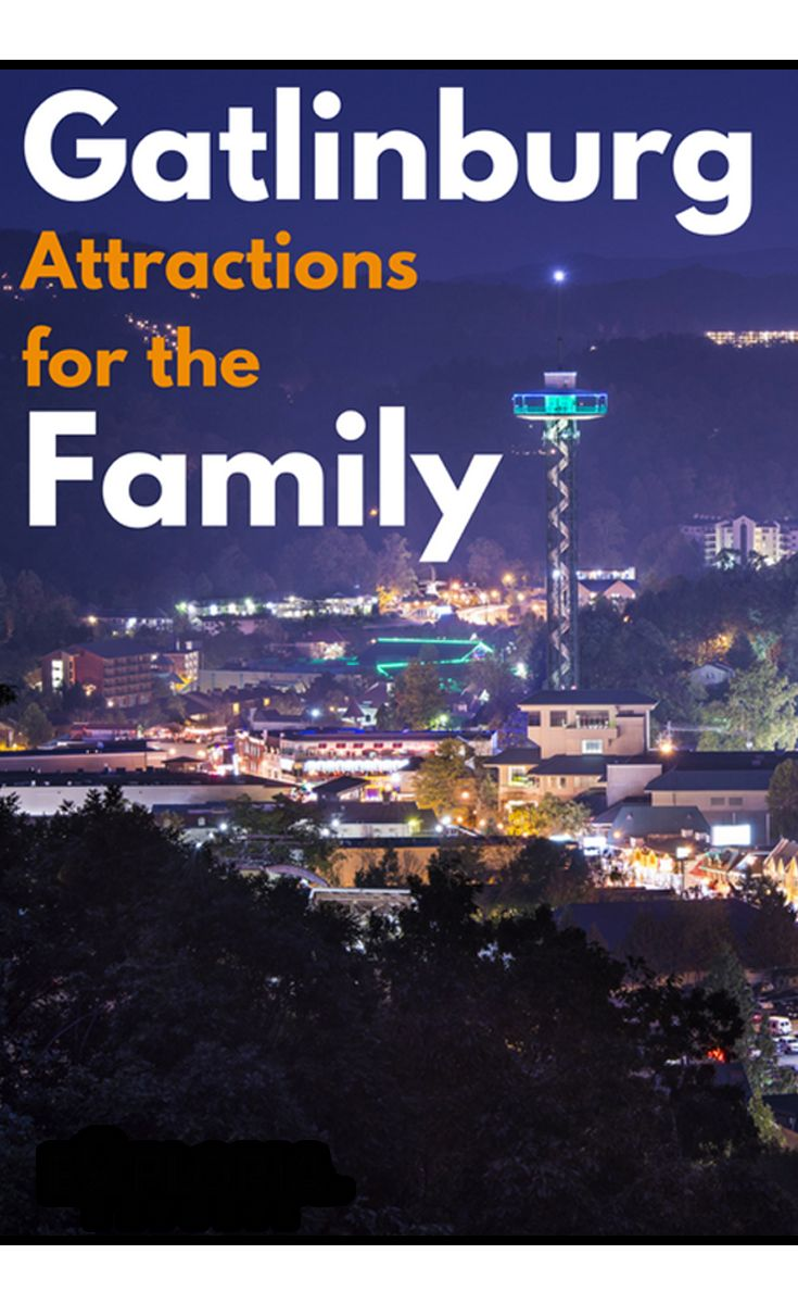 Family fun for everyone in Gatlinburg, Tennessee - from mini-golf to mountain adventures!