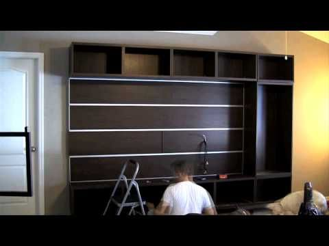 Ikea Besta Framsta Wall Mount Entertainment Center Embly Part 4 In 2018 Pinterest And Home