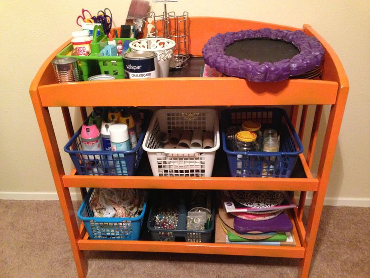 43 best images about ideas for reusing changing table on for Unique doll changing table designs