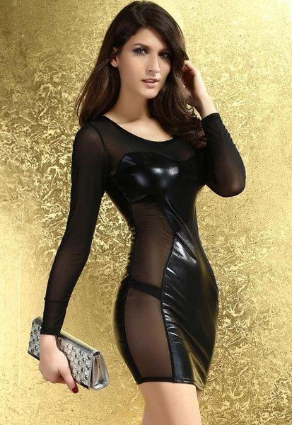 Lustlicious Metallic Mini Dress