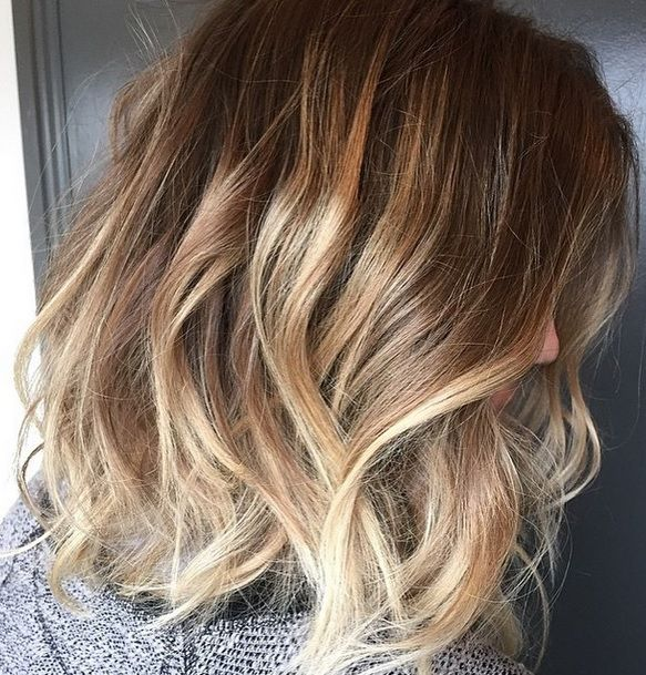 Short hair is definitely the 'in cut' for 2015, and we are seeing a lot of modified ombre shades to go with it. Colorist Meaghan Jones gives her client a beachy bronde upgrade on her shoulder lengt...