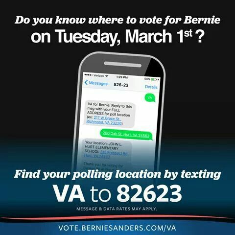 Vote Bernie Sanders for President! #BernieSanders2016  For more info on #BernieSanders ->  FeelTheBern.org berniesanders.com sanders.senate.gov ilikeberniebut.com Are you in a closed primary election state? Change your party registration to democrat to be able to vote for #Bernie in the primary elections! Voteforbernie.org http://www.fairvote.org/primary_voting_at_age_17 #FeelTheBern #WeAreBernie #NotMeUs @BernieSanders