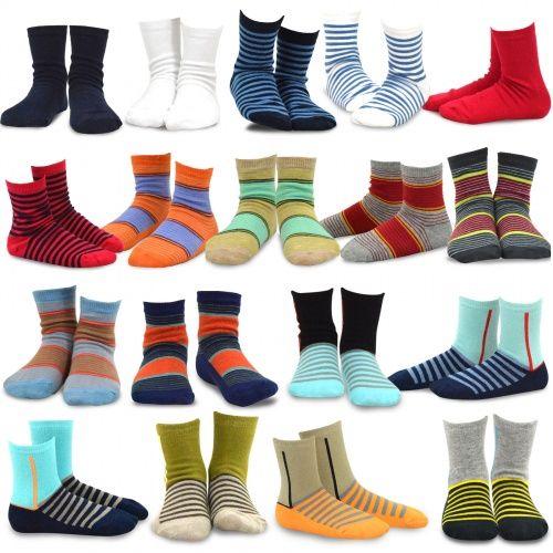 e4f2659a0b91f Basic Stripe 18pk | kids socks | Kids fashion boy, Kids boys, Boy ...