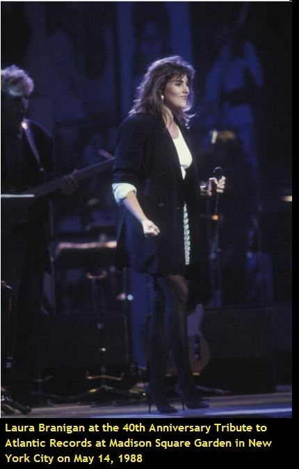 Laura 1988, Atlantic Records 40th anniversary, New York