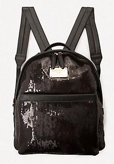 #4 Xena+Sequin+Backpack  #bebe #pinyourwishlist