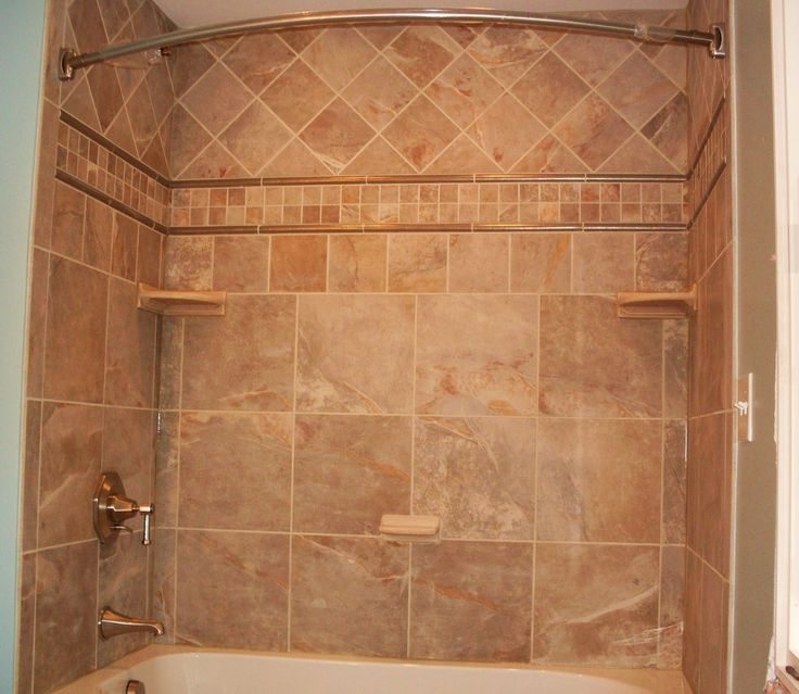not the same tile but this is close to the way i want to do the bathroom shower