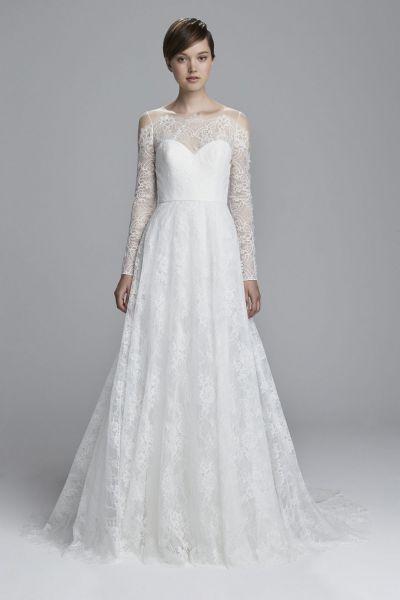 Vestidos de novia con encaje 2017: Luce sutil, delicada y elegante Image: 33