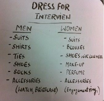 Tips for how to Dress for an Interview