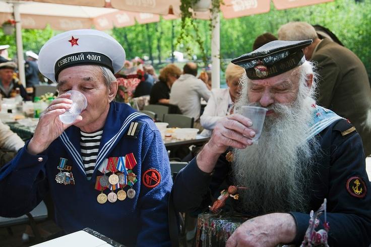 Russian war veterans