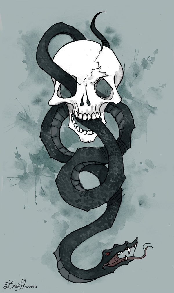 The Dark Mark by IrenHorrors.deviantart.com on @DeviantArt