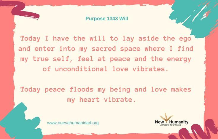 Purpose 1343 Will