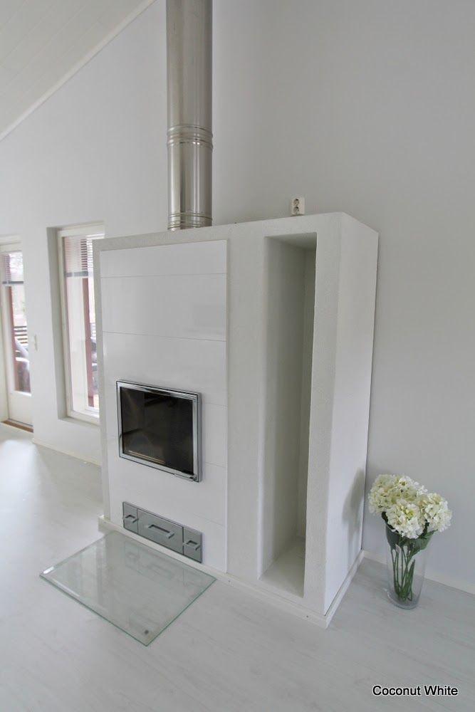 Coconut White - White Uunisepät Tunturi fireplace