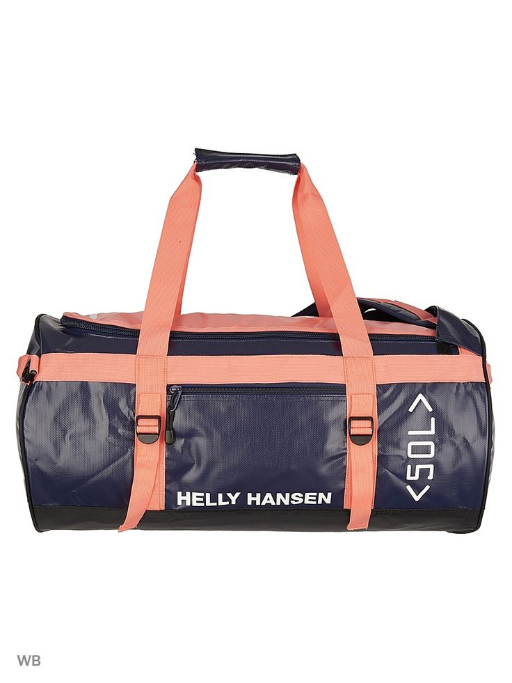 Сумка CLASSIC DUFFEL BAG 50L Helly Hansen. Цвет оранжевый.