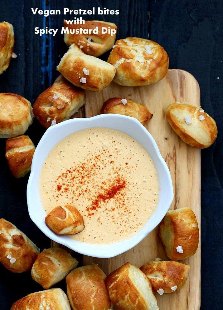 Pretzel Bites Spicy Mustard