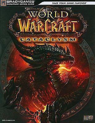World of Warcraft Cataclysm by BradyGames Staff (2010, Paperback) gaming pc mac  744012414 | eBay