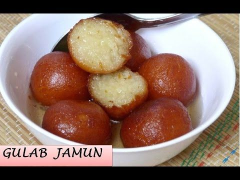 Instant Bread Gulab Jamun Recipe   How to Make Gulab Jamun   Bread Gulab Jamun Recipe - YouTube