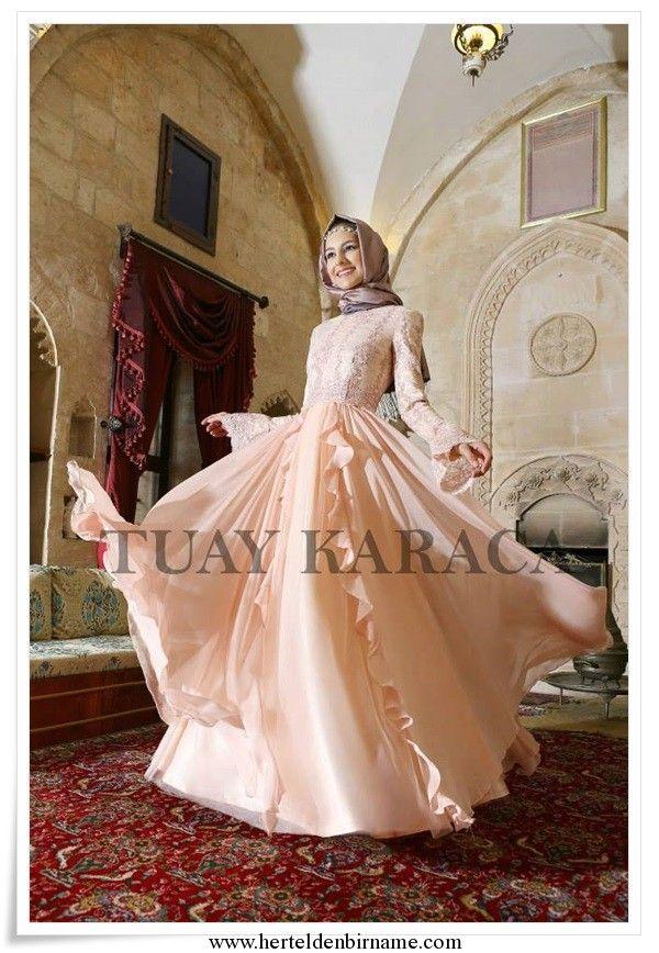 Tuay-Karaca-açık-somon-abiye-elbise.jpg (600×868)