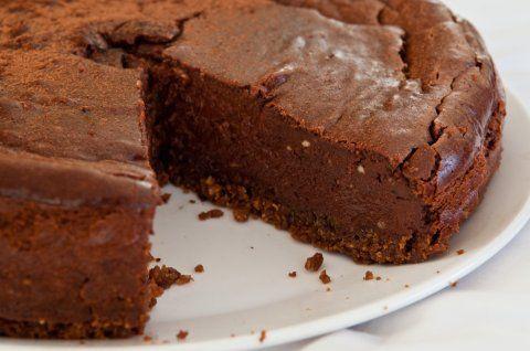 Dark Chocolate Amarula Cheesecake