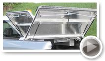 DiamondBack 270 Hard Truck Bed Covers - Locking, full access, and more features : DiamondBack Truck Covers