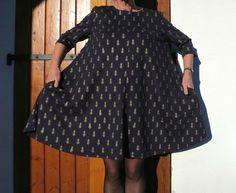 robe LUISA (patron téléchargé) de Wear Lemonade