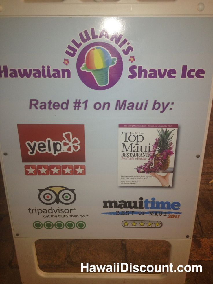 Criticising advise hawaiian shaved ice franchises can