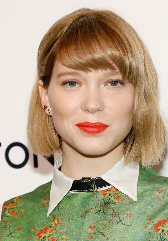 Lea Seydoux - Louis Vuitton and Nicolas Ghesquiere Event in NYC