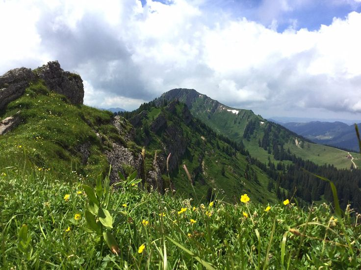 Mittag-Steineberg-Stuiben Bergtour in Immenstadt