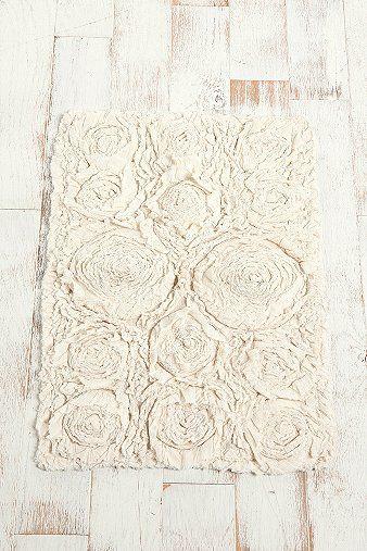Best Bathroom Rug Images On Pinterest Bathroom Bathroom Rugs - Rose bath rug for bathroom decorating ideas
