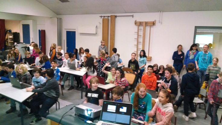 CodeKinderen voor groep 3 t/m 8 in Soest, 2014