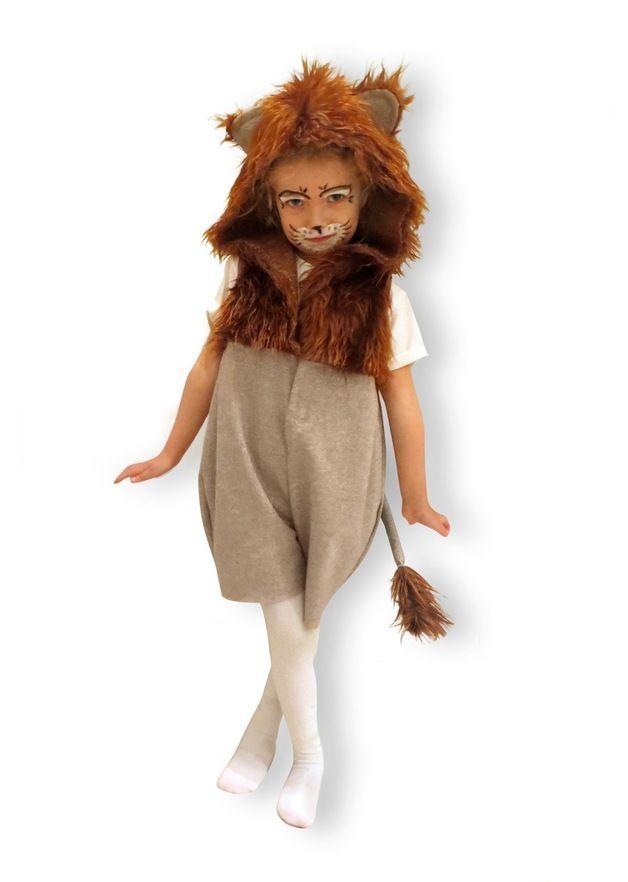 **Lustiges Löwenkostüm**  Das Kostüm gibt es in den Größen 86/92, 98/104 oder 110/116. **Bitte beim Kauf die Größe mit angeben!**  Limitierte Auflage des süßen Löwenkostüms aus meiner...