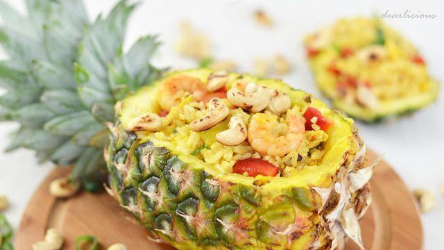 Gebratener Reis mit Ananas | dearlicious | http://dearlicious.blogspot.com/2016/02/gebratener-reis-ananas.html