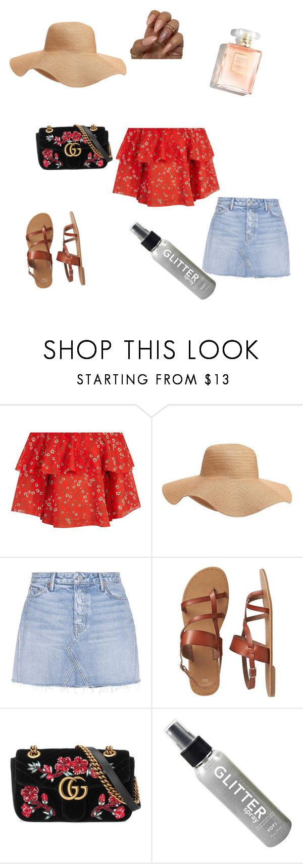 """Summer2k17"" by edensnatural on Polyvore featuring Alice + Olivia, Old Navy, GRLFRND, Gap and Gucci"