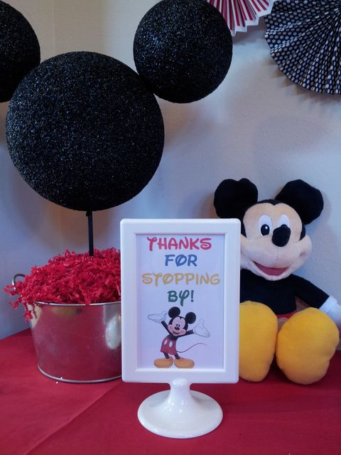 "Photo 25 of 27: Mickey Mouse Clubhouse / Birthday ""Mickey Mouse Clubhouse 1st Birthday"" 