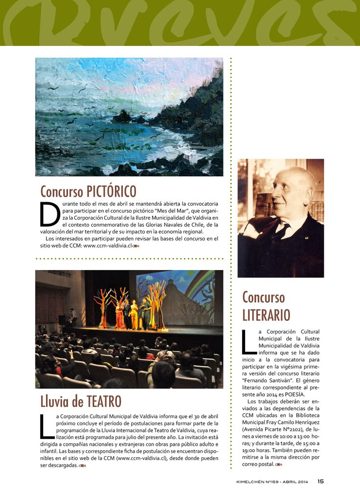 Revista Kimelchén Abril 2014