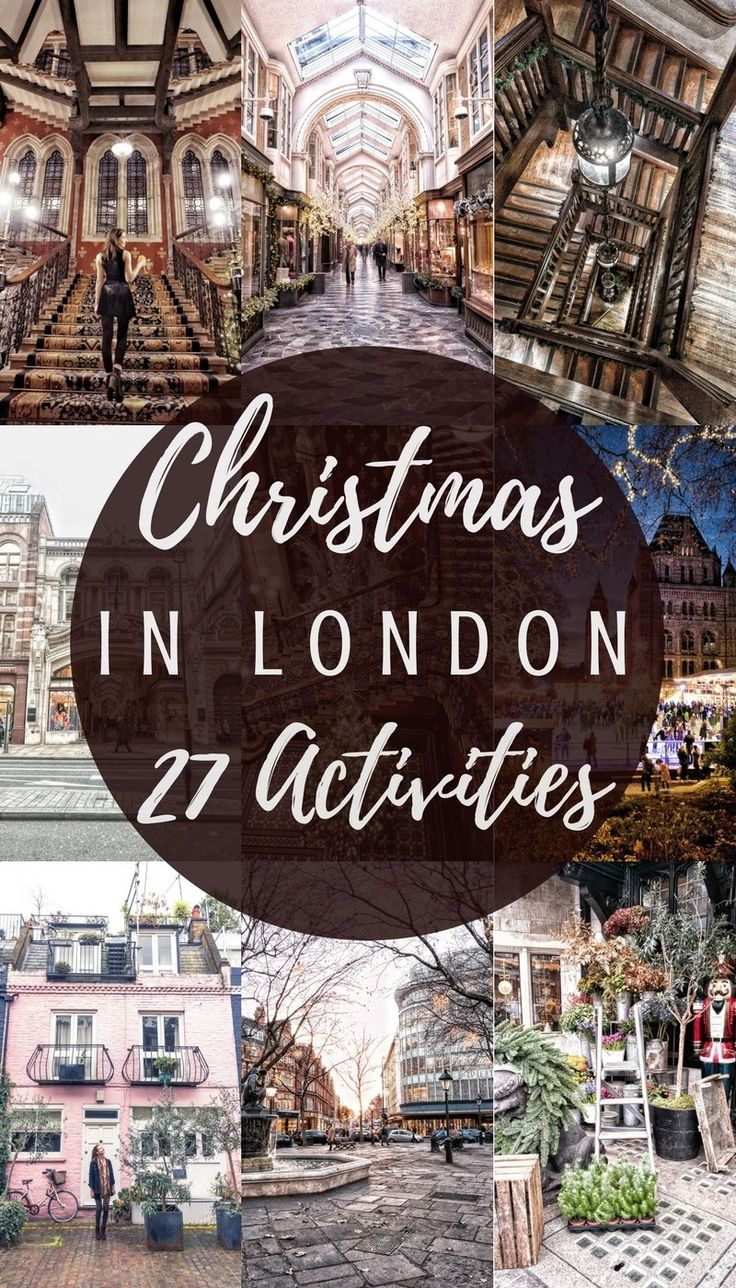 Christmas in London: what to do, where to go and all the eats! How to spend the holiday season in London, England!
