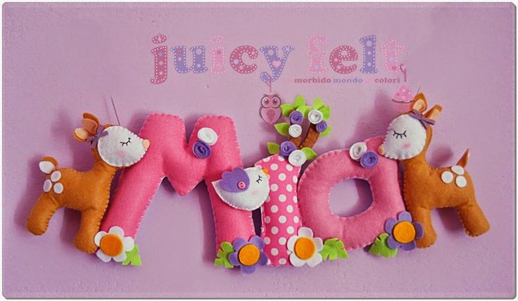 Juicy felt: Il banner di Mia
