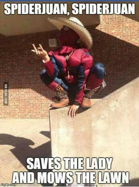 Mexican humor, Spiderman