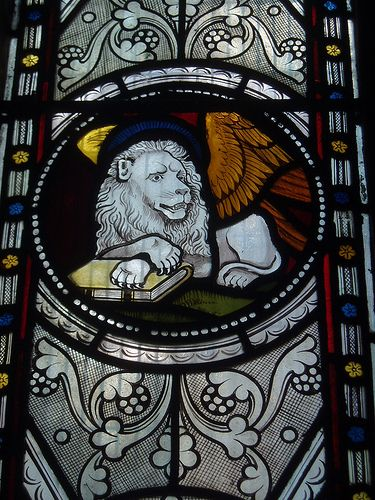 Lion of St Mark, Clifton: White Lion