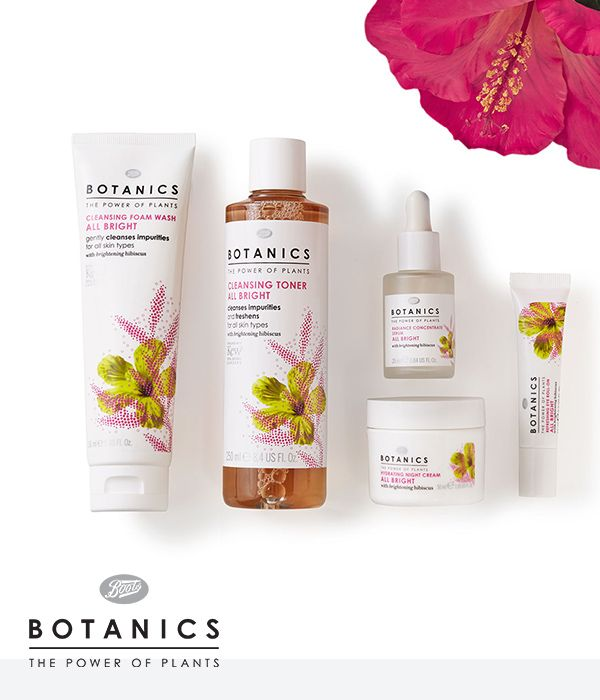 The power of plants can do wonders to your skin. Experience for yourself by using our Boots Botanics All Bright skincare line.