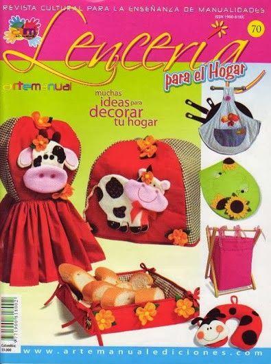 Blog de Santa clauss: Revista Lenceria para el hogar No. 70