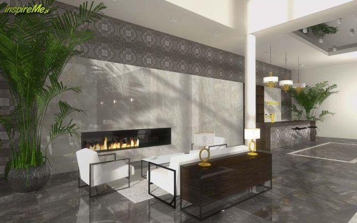 Projekt wnętrza nowoczesnego hotelu nadmorzem (Mobiliani Design)