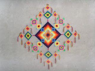 Lengua Indígena (Wixárika): Ojo de Dios