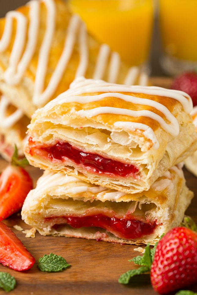 You can make Homemade Toaster Strudels with this easy back-to-school breakfast hack recipe.