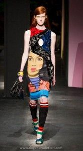 prada 2014 yaz elbiseleri: 2014 Imf, Prada Primaveraverano, Fashion Week, Prada 2014, 2014 Rtw, Prada Spring Summer 2014, Fashion 2014, Spring 2014, Prada Ss14