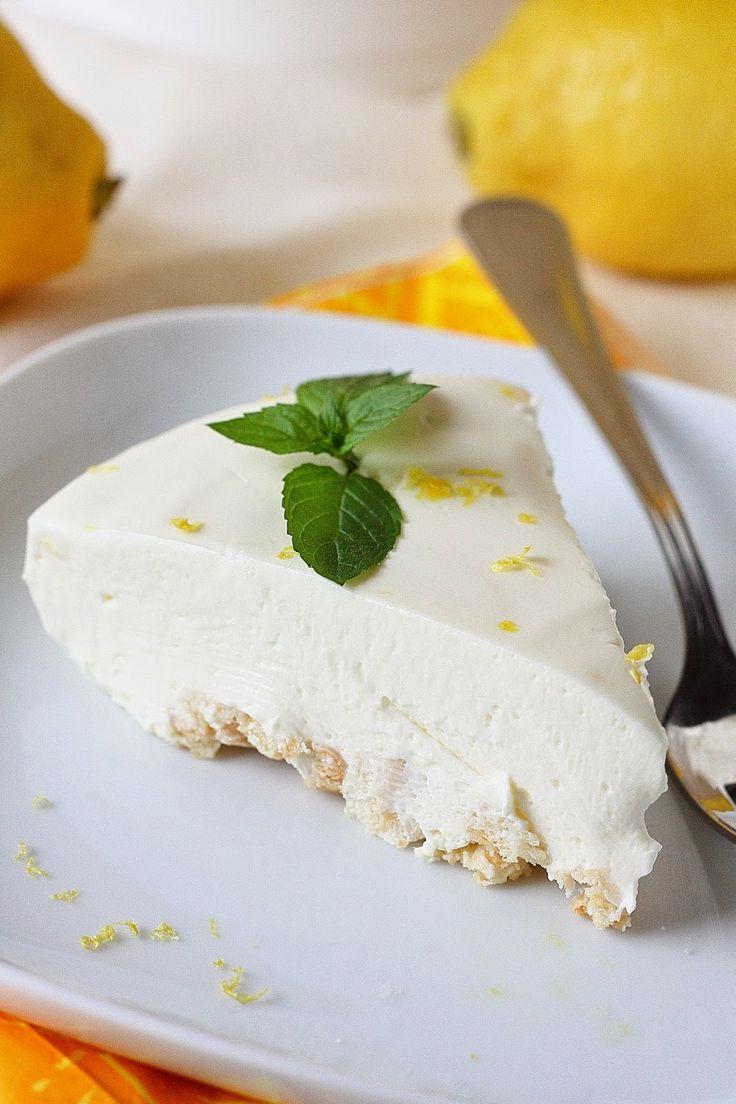 Järisyttävän hyvä sitruuna-juustokakku