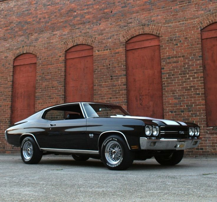 """a-slice-of-awesome: """"1970 Chevrolet Chevelle SS """" Resting strength…American muscle. #musclecar #chevelle #chevy"""