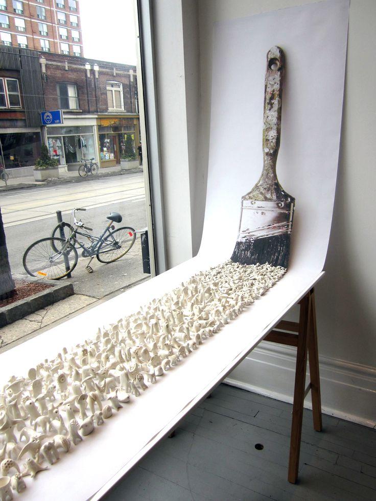 Grace Eunmi Lim | Ceramic Art Installation at Bluebird                                                                                                                                                                                 More