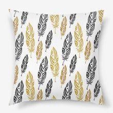 Подушка «Золотые перья»